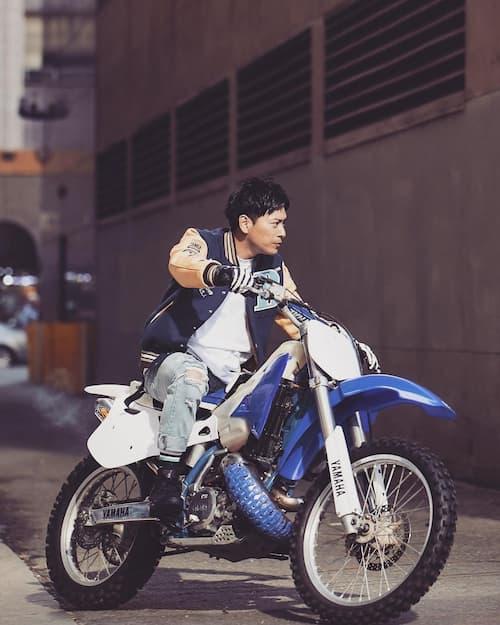 山下健二郎のバイク