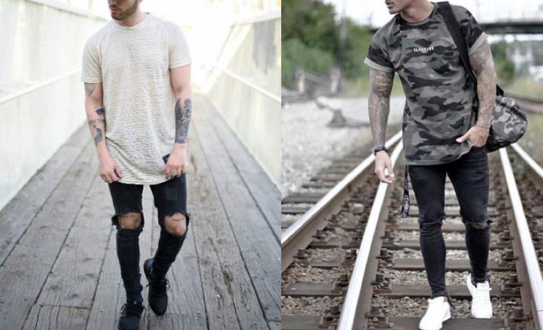 夏,ファッション,メンズ,ストリート
