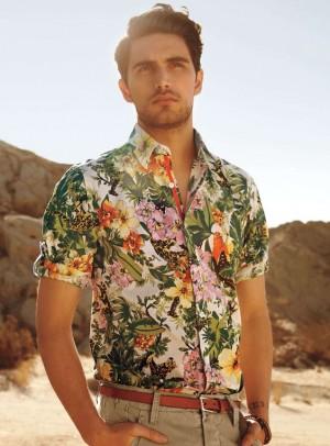 美しいデザインのアロハシャツ