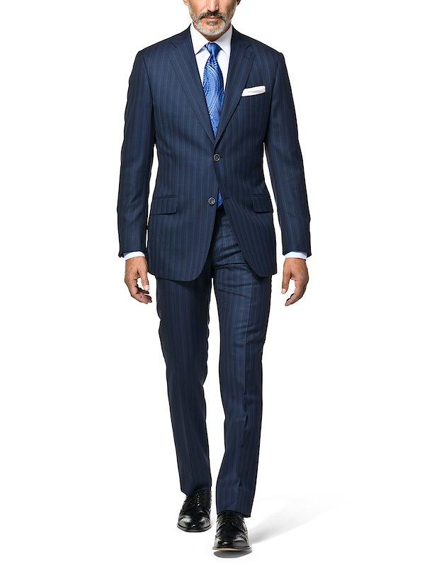 結婚式で着たいスーツ メンズは黙ってストライプ柄 服のメンズマガジン