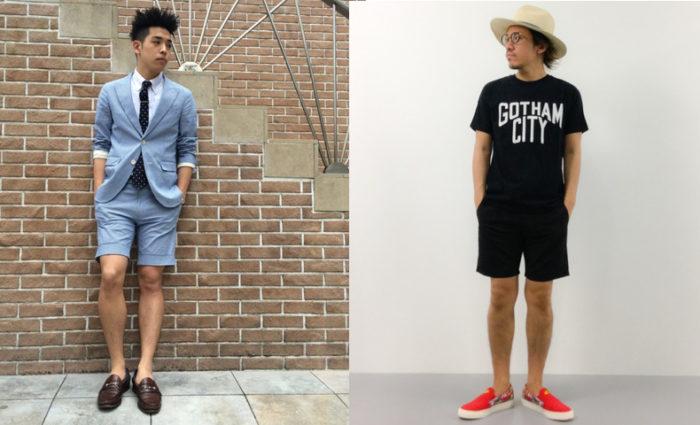 メンズ,ファッション,夏,シンプル,コーディネート,スナップ