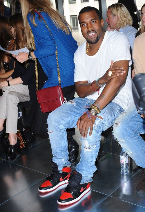 Kanye West London Fashion Week Spring/Summer 2012 - Christopher Kane - Front Row London, England - 19.09.11 Mandatory Credit: WENN.com