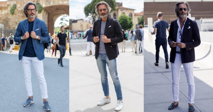 秋のファッション・メンズ|50代から始める落ち着きのあるコーデ