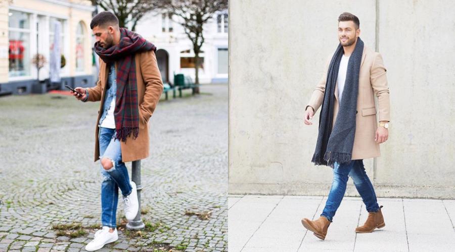 キャメルのコートと相性の良いマフラーの色は メンズ編 服のメンズ