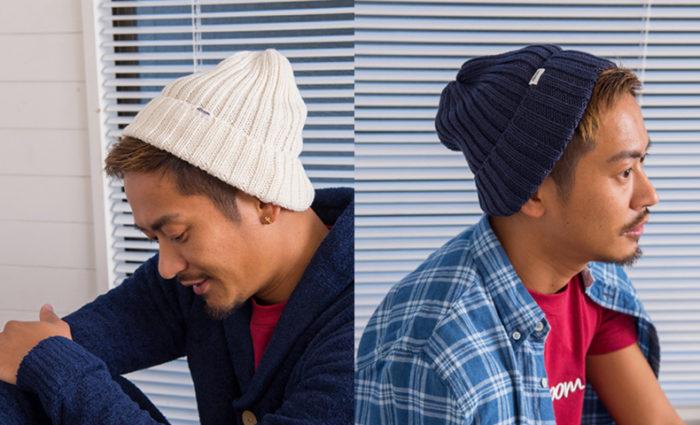 ニット帽 メンズ 色 人気 コーデ
