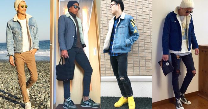 デニムボアジャケットを使ったメンズのコーデ特集【最新】|服の