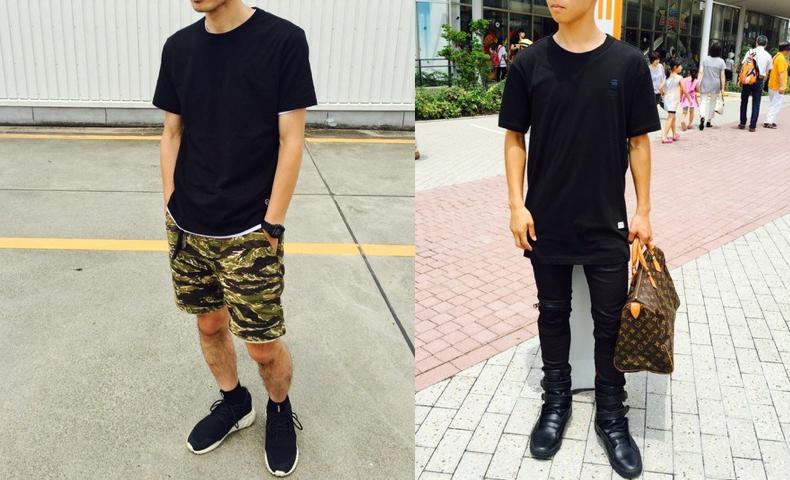 黒 Tシャツ コーデ メンズ ファッション 着こなし
