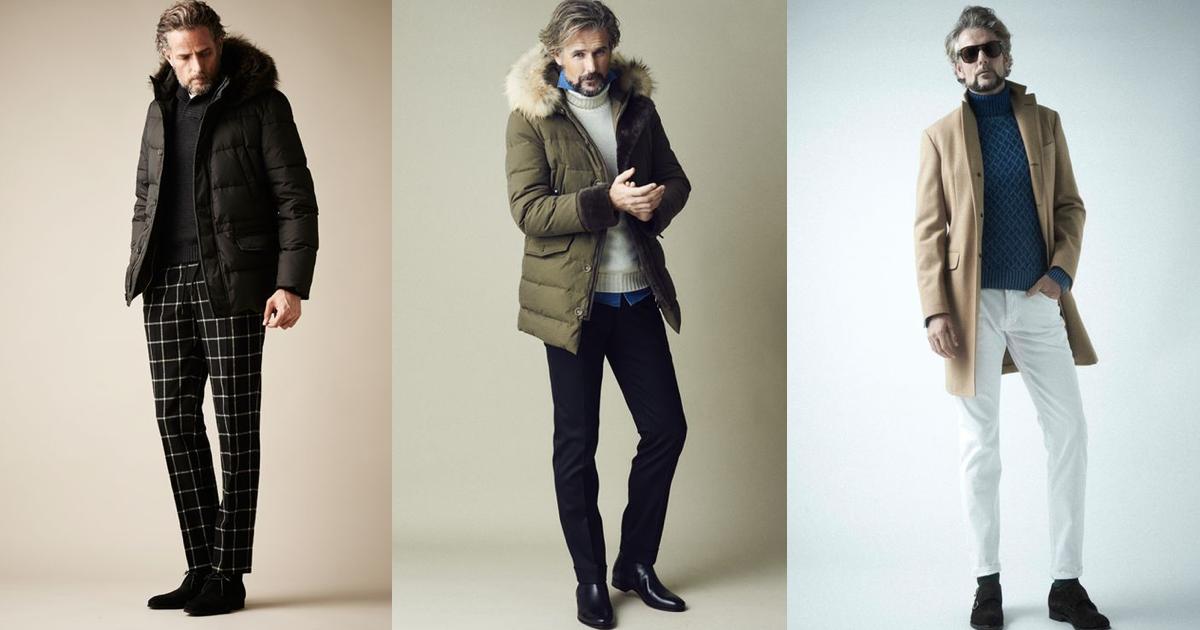50代・男性のファッション&コーディネート|冬のアウター特集!|メンズファッション&筋トレ&恋愛&体の悩み
