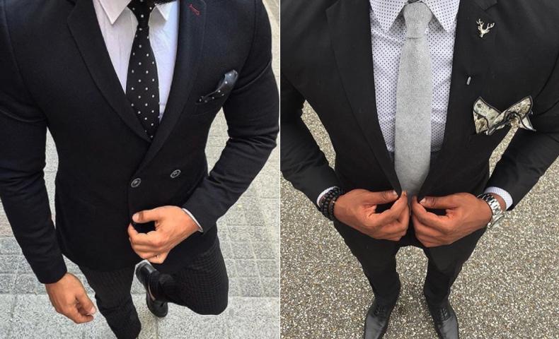 入学式 パパ スーツ 黒色