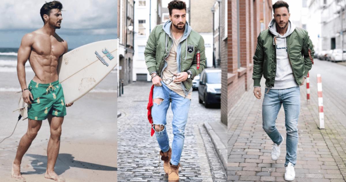 筋肉質がしたいファッション|メンズ・秋と冬の着こなしを伝授!|男性ファッション&筋トレ&恋愛&体の悩み