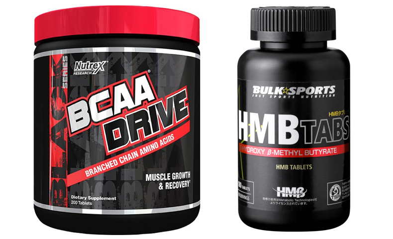 BCAA サプリ 効果なし HMB プロテイン 違い