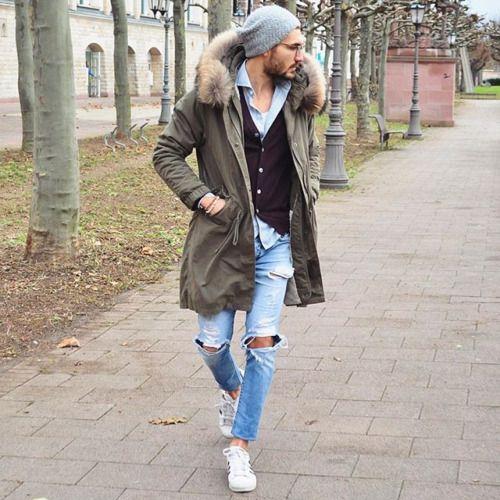 白スニーカーのコーデ|メンズ・冬【靴下ありの履き方まで ...