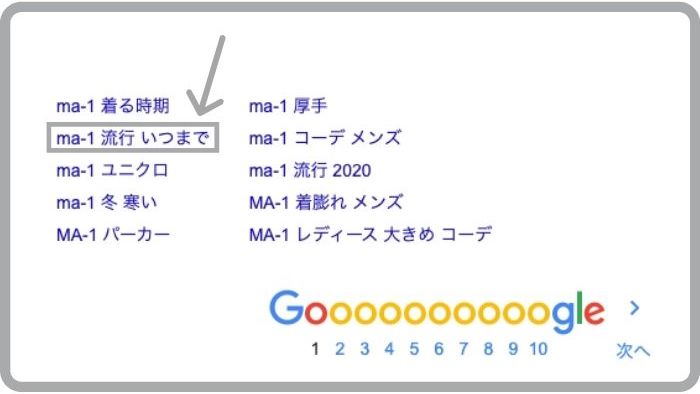 ma-1 流行り いつまでの検索結果