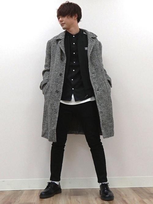 チェスターコートを使ったファッション