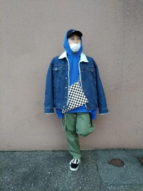 デニムジャケット,サイズ感,色,選び方,メンズ