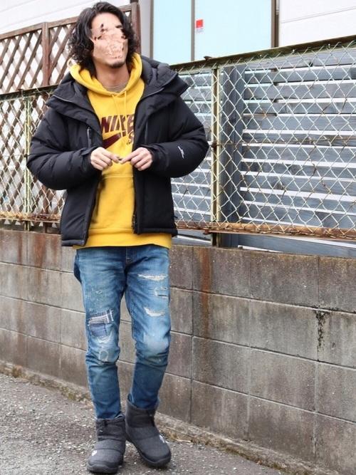 ダウンジャケット,サイズ感,メンズ,選び方