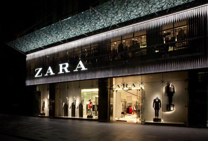 ジムの服装 ZARA